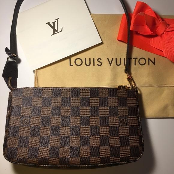 f9bfacd336 Louis Vuitton Handbags - LOUIS VUITTON POCHETTE ACCESSOIRES - NEW
